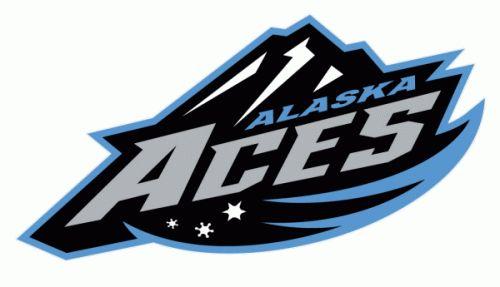 Alaska Aces Hockey   Alaska Aces 2003-04 hockey logo of the ECHL