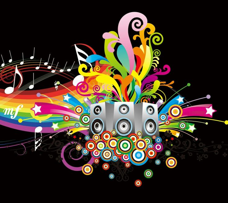 HD Colors Of Music Wallpaper Full Or Colorful Wallpapers