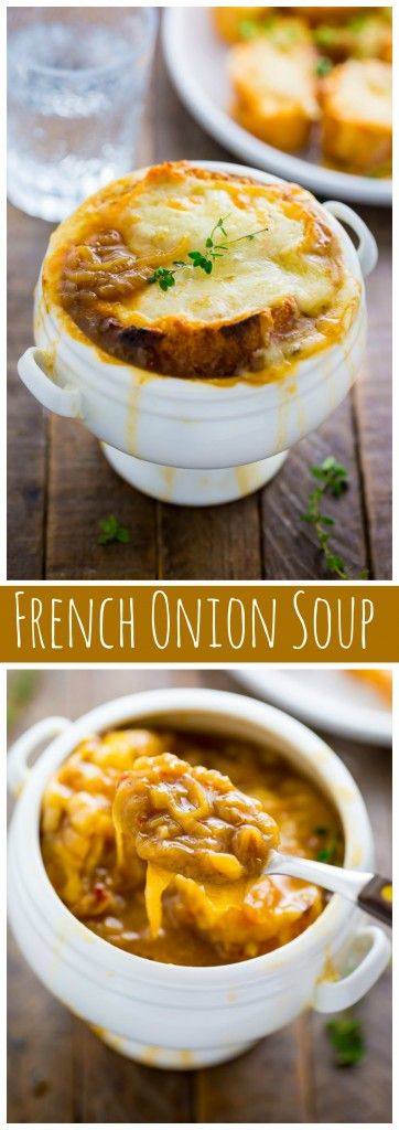 Holy YUM! Definitely the best French Onion Soup I've ever had ans so easy to make! #ad #NYScertified