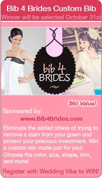 So there really is a bib for brides?
