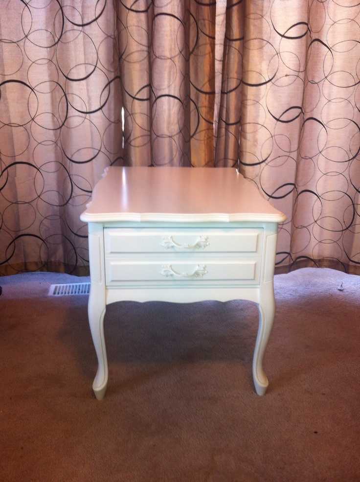 Pretty little side table with a drawer. $125