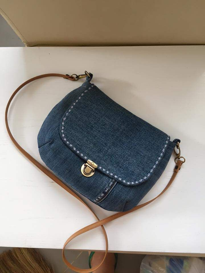 Best 25  Denim bag ideas on Pinterest