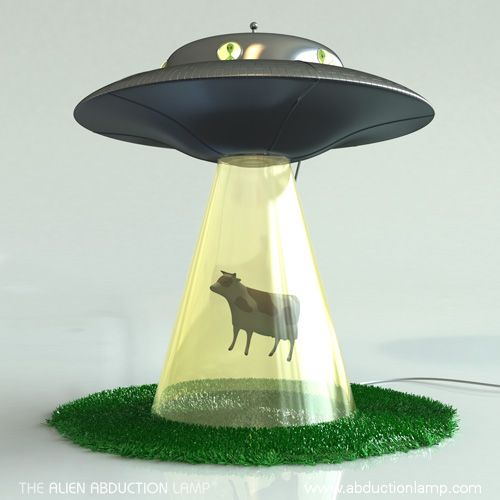 Alien Abduction Lamp – UFO Lamps