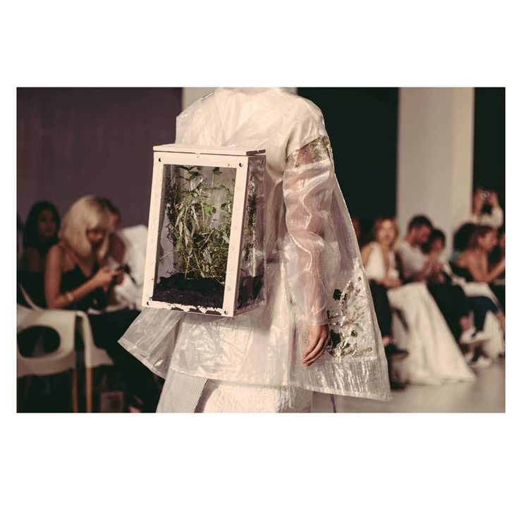 Magdalena Butnariu SS15 Earth.backpack. terrarium backpack