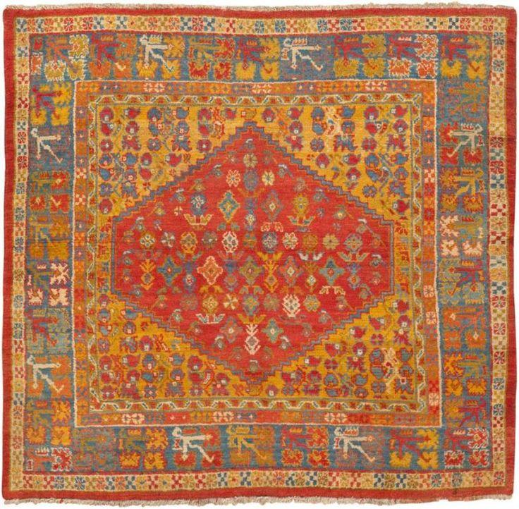 Antique Turkish Oushak Rug 45635 By Nazmiyal Carpets Nyc