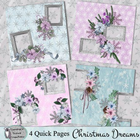 Christmas Dreams quick pages