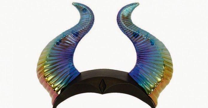 Maleficent Free Printable Horns.