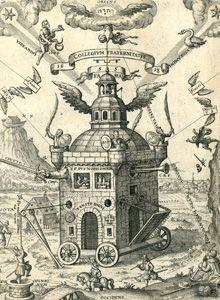 Johann Hörner's Problema summum, Mathematicum & Cabalisticum. Das ist: Ein hohe, versiglete, Mathematische und Cabalistische Auffgab und Figur, an alle Gelehrten unnd Kunstliebende Europae. Sampt einem Colloquio und Discurs die Fraternitet R.C. betreffend - A rare early seventeenth-century Rosicrucian book. The only copy in the Netherlands is part of The Ritman Library's collection. It was printed in Nuremberg by Johann Friedrich Sartorius in 1619. www.ritmanlibrary.com