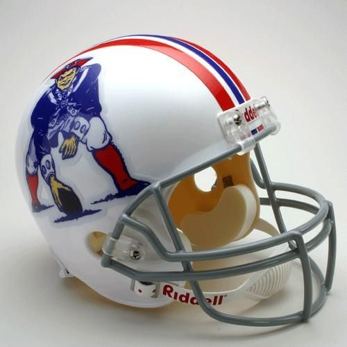 New England Patriots Helmet Riddell Replica Full Size VSR4 Style 1965-1981 Throwback Special Order