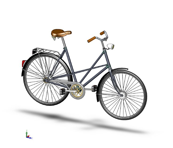 Bicycle In Solidworks Solidworks Autocad Training