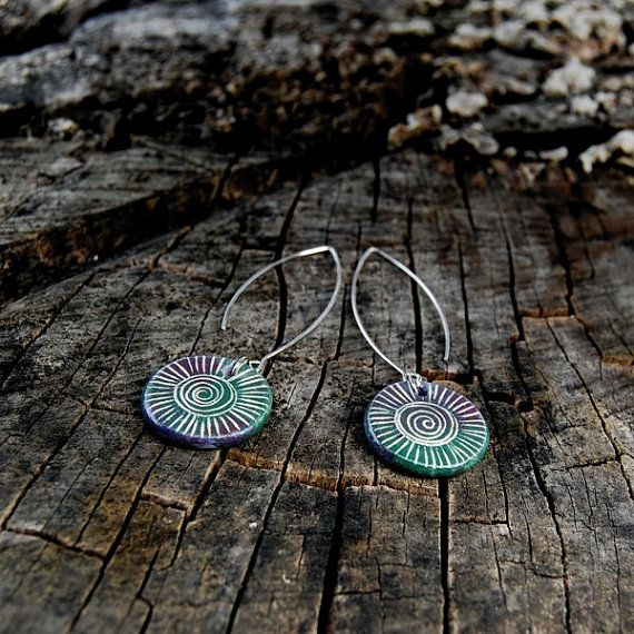 Hey, I found this really awesome Etsy listing at https://www.etsy.com/listing/280901524/ceramic-jewelry-earrings-spiral-striped