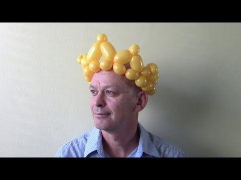 Корона из шариков