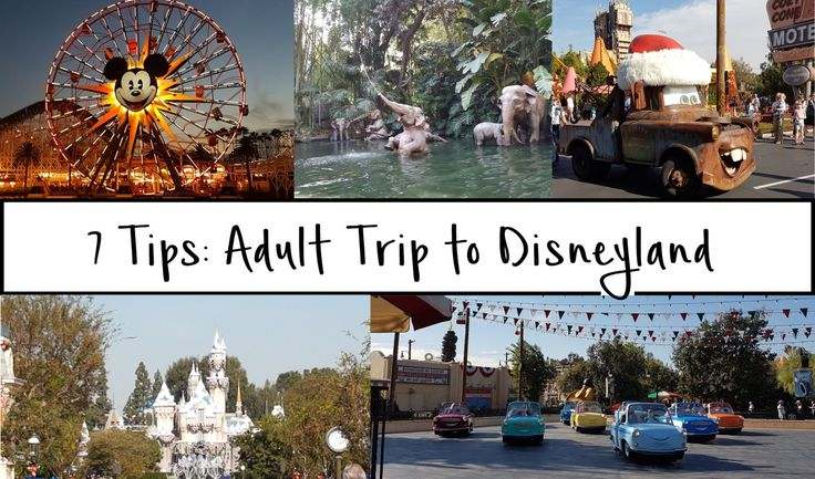 Disneyland for Adults: 7 Things to Know Before Your Trip