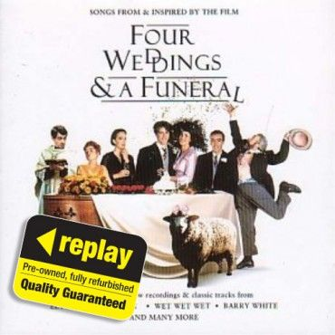 Replay CD: Various Artists: Four Weddings & A Funeral