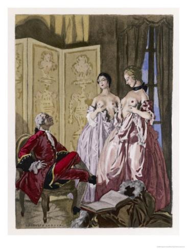 Giovanni Giacomo Casanova Chevalier de Saingalt Giclee Print by Auguste Leroux at Art.com