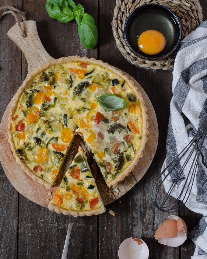 Quiche De Verduras Receta Casera Fácil Ydeliciosa