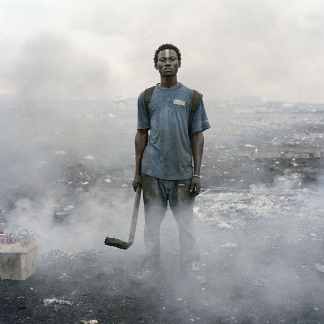 "Pieter Hugo was shortlisted for ""Permanent Error,"" his project on an informal electronic waste dump in Ghana. Description from pdnpulse.pdnonline.com. I searched for this on bing.com/images"
