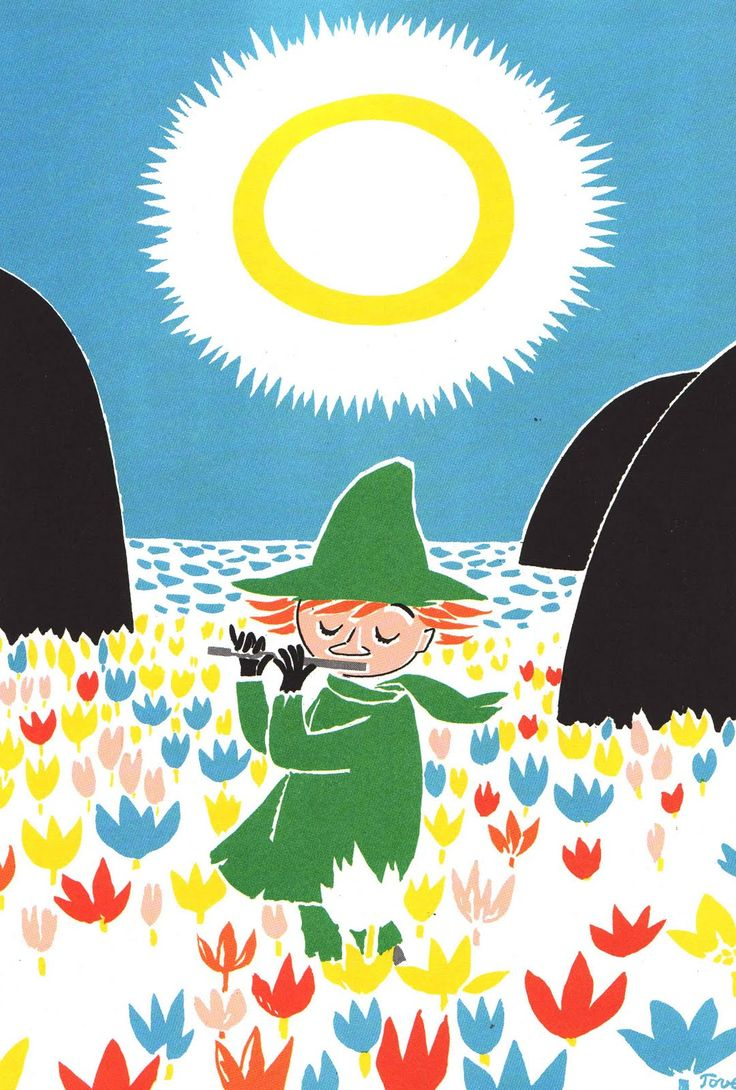 Vintage Kids' Books My Kid Loves: Who Will Comfort Toffle? - I love Snufkin!