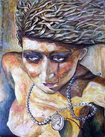 andrea bernath_The Lady of the Cameo_Melancholia_1