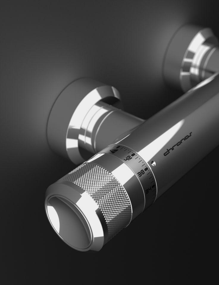 CHRONOS - Švýcarská preciznost a propracovaný mechanismus hodinek jsou základem inovačního projektu značky Huber. Design: Martin Tochaczek & Roman Kalousek