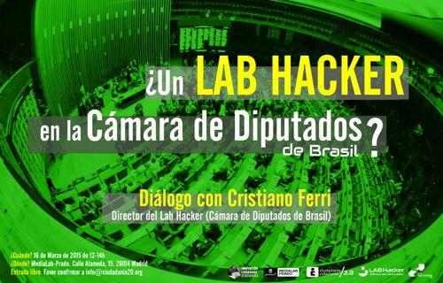 ¿Un Lab Hacker en la Cámara de Diputados de Brasil? - Medialab-Prado Madrid