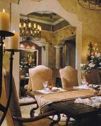 Tuscan formal dining