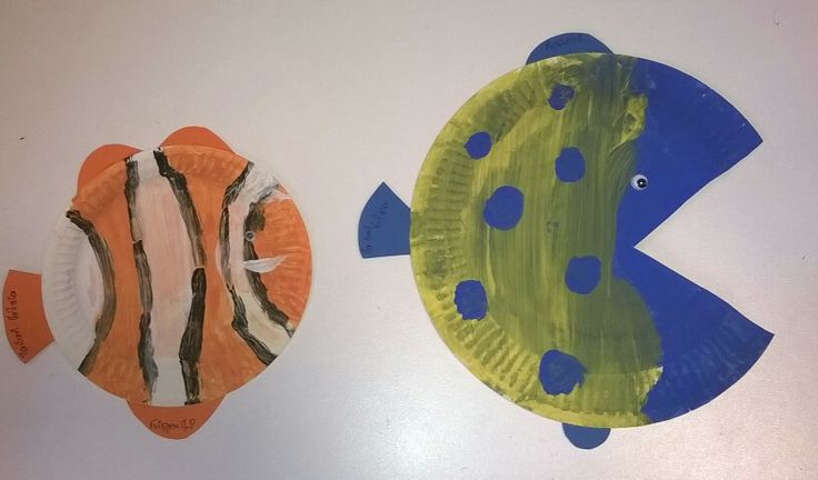 Ο Νέμο και ο φίλος του! #nemo #kids #craft #παιδικήπολιτεία #paidikipoliteia #χειροτεχνία #ψαράκι #καλοκαίρι #θάλασσα