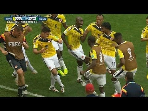 Colombia's Dance Celebration Is Clearly The Best Thing To Happen At The 2014 World Cup