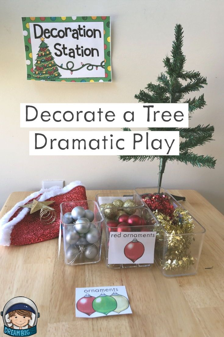 Christmas Tree Lot / Winter Dramatic Play Center | Dramatic Play ...