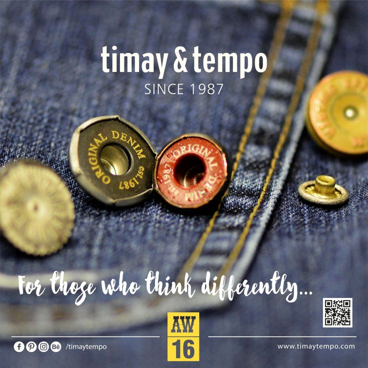For those who think differently... #timaytempo #metal #accessories #button #denim #fastener #jeans #fashion #collection #prongsnapfastener #klikıt #snap #aksesuar #düğme #denimbutton #metalbutton #denimaccessories #metalaccessories #red #navy #aw16 #different