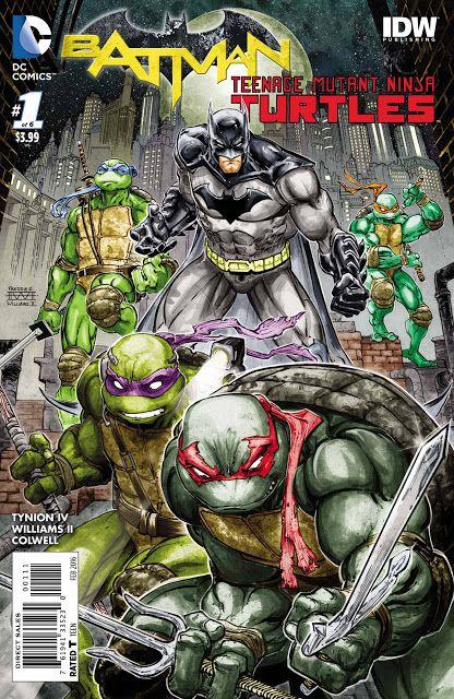 Chris is on Infinite Earths: Batman/Teenage Mutant Ninja Turtles #1 (2016)