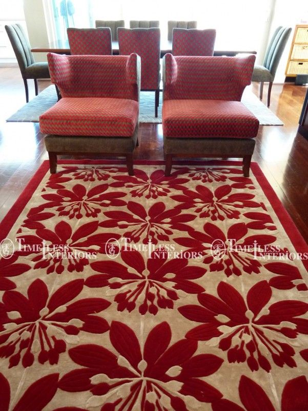 Bold and Graphic Floor Rugs
