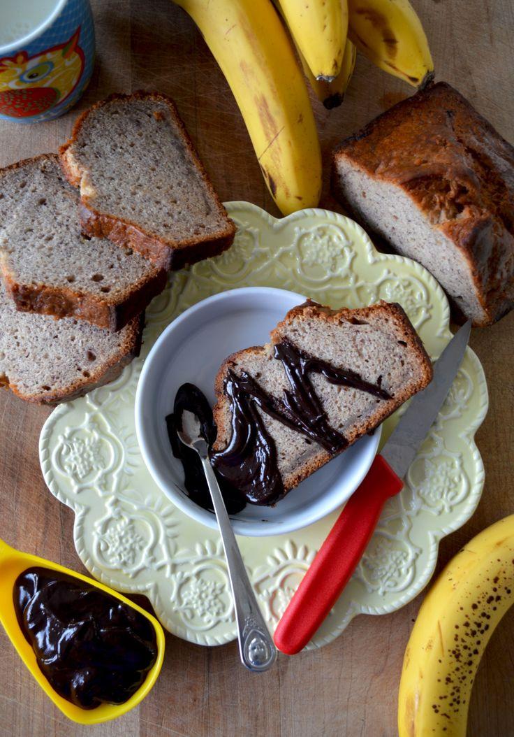 Pain aux bananes - farine de sarrasin pâle (vegan & sans gluten) - Le Sarrasin Végétalien
