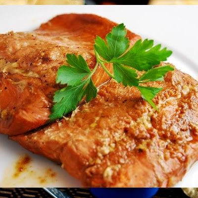 Ginger Soy Salmon. Did this. Loved it. But I altered the recipe and ...