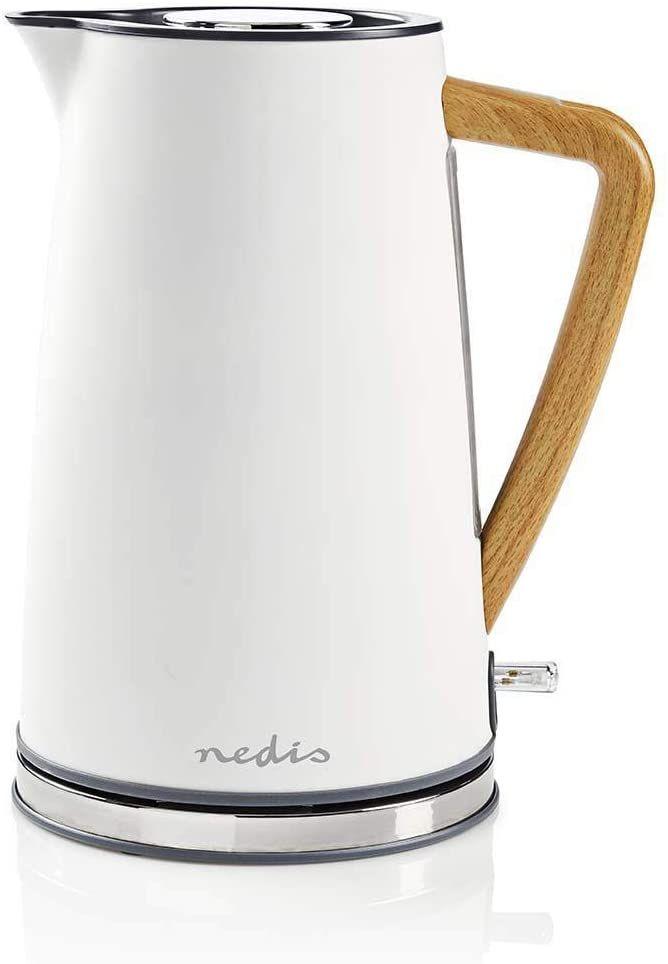 Nedis Kawk510egy Bollitore Elettrico 1 7 L Soft Touch Grigio Amazon It Elettronica Wasserkocher Kessel Bester Wasserkocher