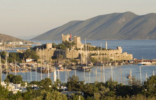 Bodrum Castle, Turkish Riviera | Where to go on holiday in May | #travel