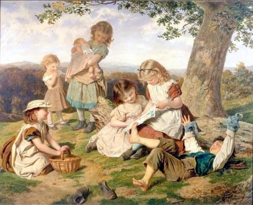 The Children's Story Book - Sophie Anderson #art