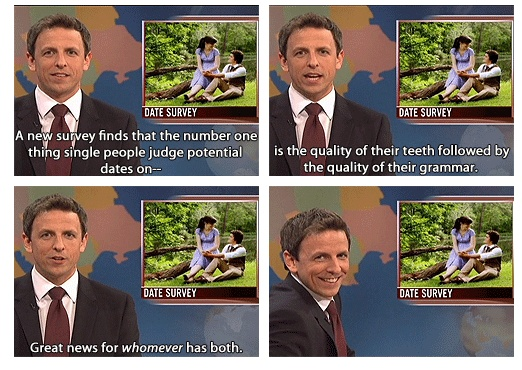 Love Seth and Weekend Update so much!