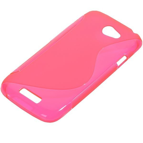 S-Line Transparent (Hot Pink) HTC One S Cover