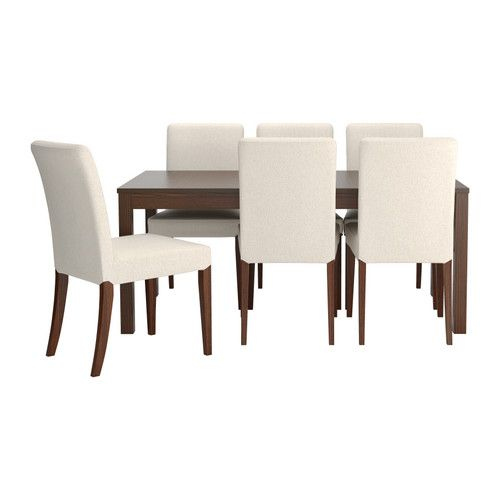 BJURSTA HENRIKSDAL Table And 6 Chairs