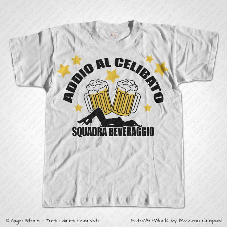 Magliette Addio al Celibato Squadra Beveraggio T-Shirt Matrimonio divertenti per gli Amici dello Sposo, Personalizza adesso! ->  http://www.gigiostore.it/prodotto/addio-celibato-squadra-beveraggio-t-shirt/