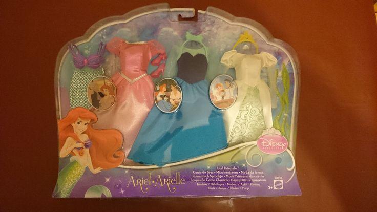 Disney Princess Little Mermaid Ariel doll Fashions outfit dress clothes Set   12.99+2.8