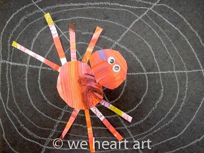 we heart art: very BUSY spiders! by Eric Carle