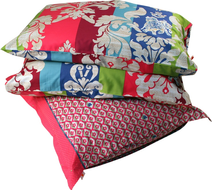 Pretty pink bed linen! #pink #linen