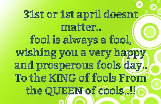 april fool messages for friends