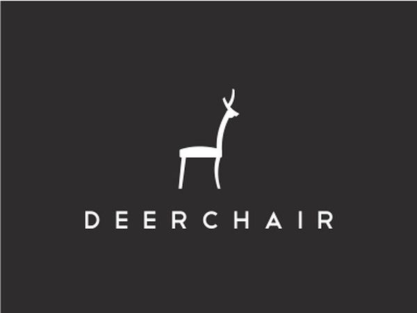 Furniture Logo Ideas. Deerchair Furniture Logo Ideas E