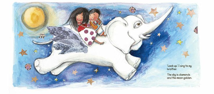 'Elephants Have Wings' - a picture book which discovers the humanity in all of us.