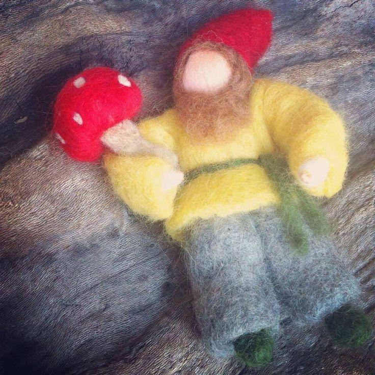 Mushroom elf Waldorf inspired by Philosopher's Joke.