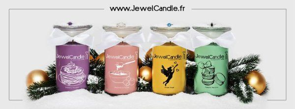 bougie jewel candle | Jewel Candle ♨ - Les Pipelettes