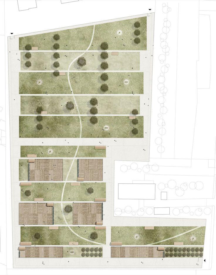 """anålogo, Davide Consolati, Paolo Guidotto, Valeria Zamboni, Massimo Peota · """"Orti per tutti"""" - Concorso di progettazione per un'agricoltura urbana · Divisare"""